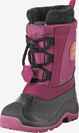 Reima Winterstiefel 'Yura' in pink / schwarz, Produktansicht