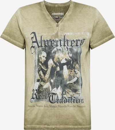 STOCKERPOINT Shirt 'Alpenhero' in dunkelbeige, Produktansicht