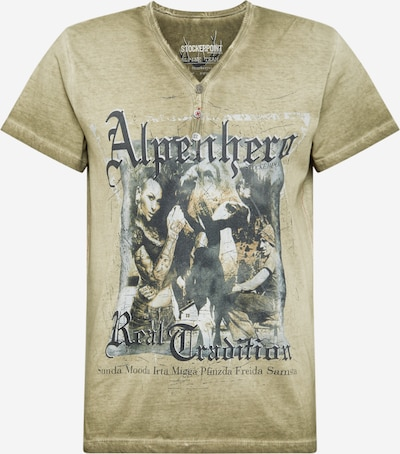 STOCKERPOINT Shirt 'Alpenhero' in khaki, Produktansicht