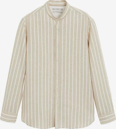 MANGO MAN Hemd 'Elda' in sand / weiß, Produktansicht