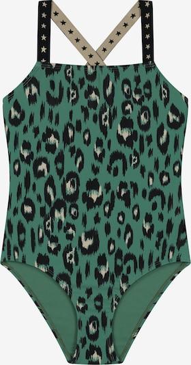 Shiwi Badpak 'luxe leopard' in de kleur Groen, Productweergave