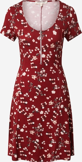 ABOUT YOU Dress 'Ivana' in Mixed colors / Bordeaux, Item view