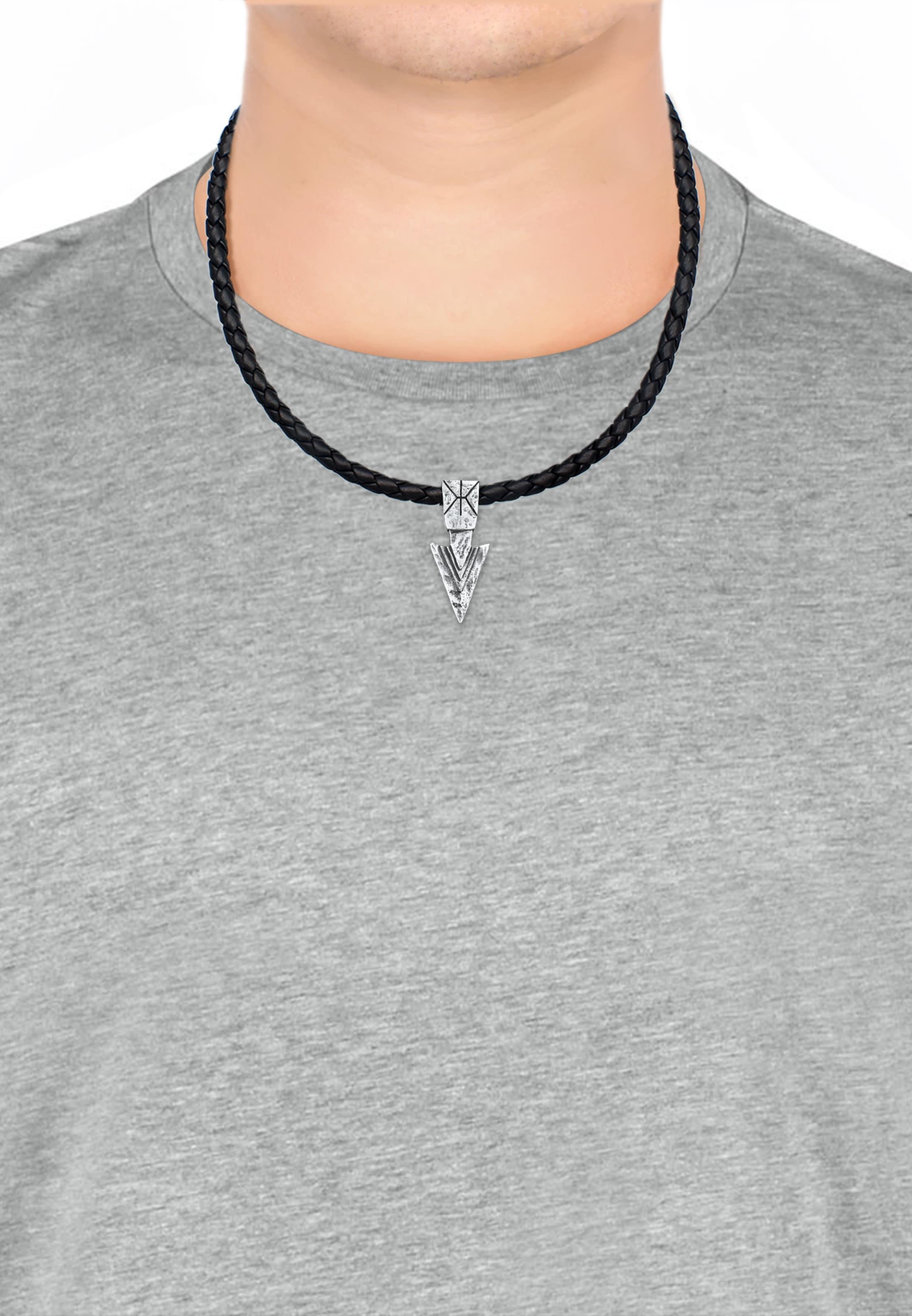 Halskette Halskette Kuzzoi Halskette In In SchwarzSilber Kuzzoi In Kuzzoi SchwarzSilber Tlc1KFJ