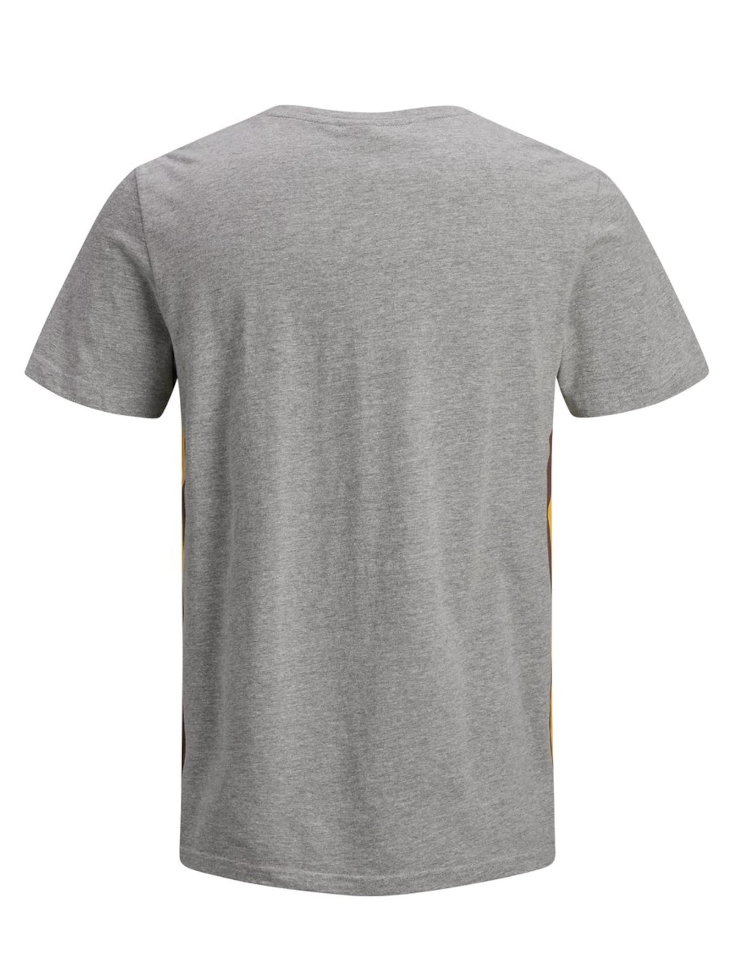 De Couleurs Gris Jones En T shirt ChinéMélange Jackamp; 7yYb6fg