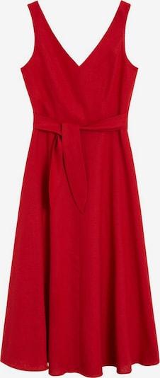 MANGO Robe en rouge, Vue avec produit