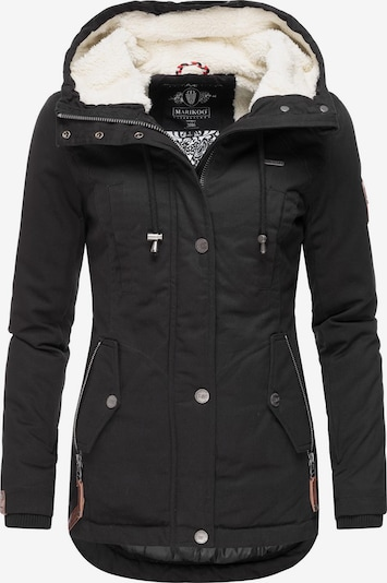 MARIKOO Winterjacke 'Bikoo' in schwarz, Produktansicht