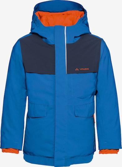 VAUDE Skijacke 'Igmu' in blau / orange, Produktansicht