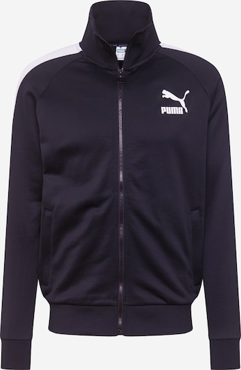 PUMA Spordijope 'Iconic T7 ' must / valge, Tootevaade