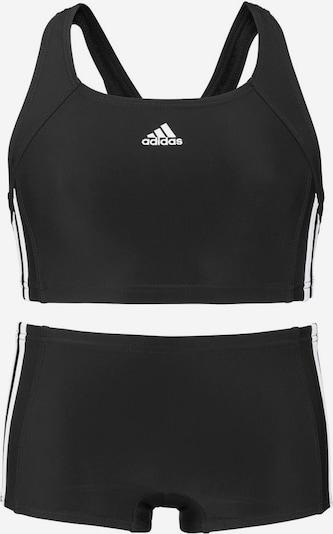 ADIDAS PERFORMANCE Bustier-Bikini in schwarz, Produktansicht
