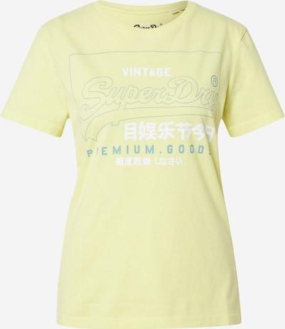 Superdry Shirt in gelb, Produktansicht