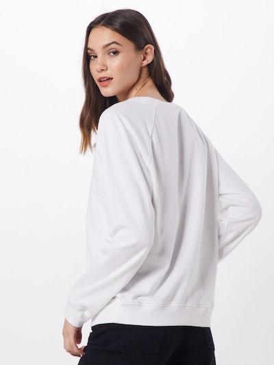 LEVI'S Sweatshirt 'RELAXED GRAPHIC CREW' in de kleur Wit: Achteraanzicht