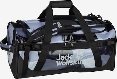 JACK WOLFSKIN Reistas 'Expedition Trunk' in de kleur Duifblauw / Lichtgrijs / Donkergrijs / Zwart, Productweergave