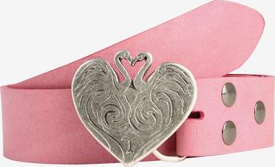 RETTUNGSRING by showroom 019° Ledergürtel 'Gump' in pink, Produktansicht