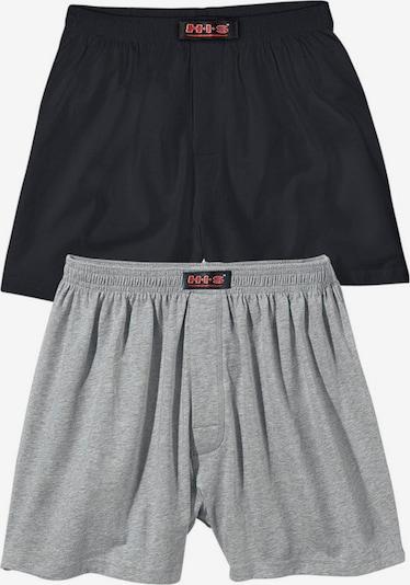 H.I.S Trunks in grau / schwarz, Produktansicht