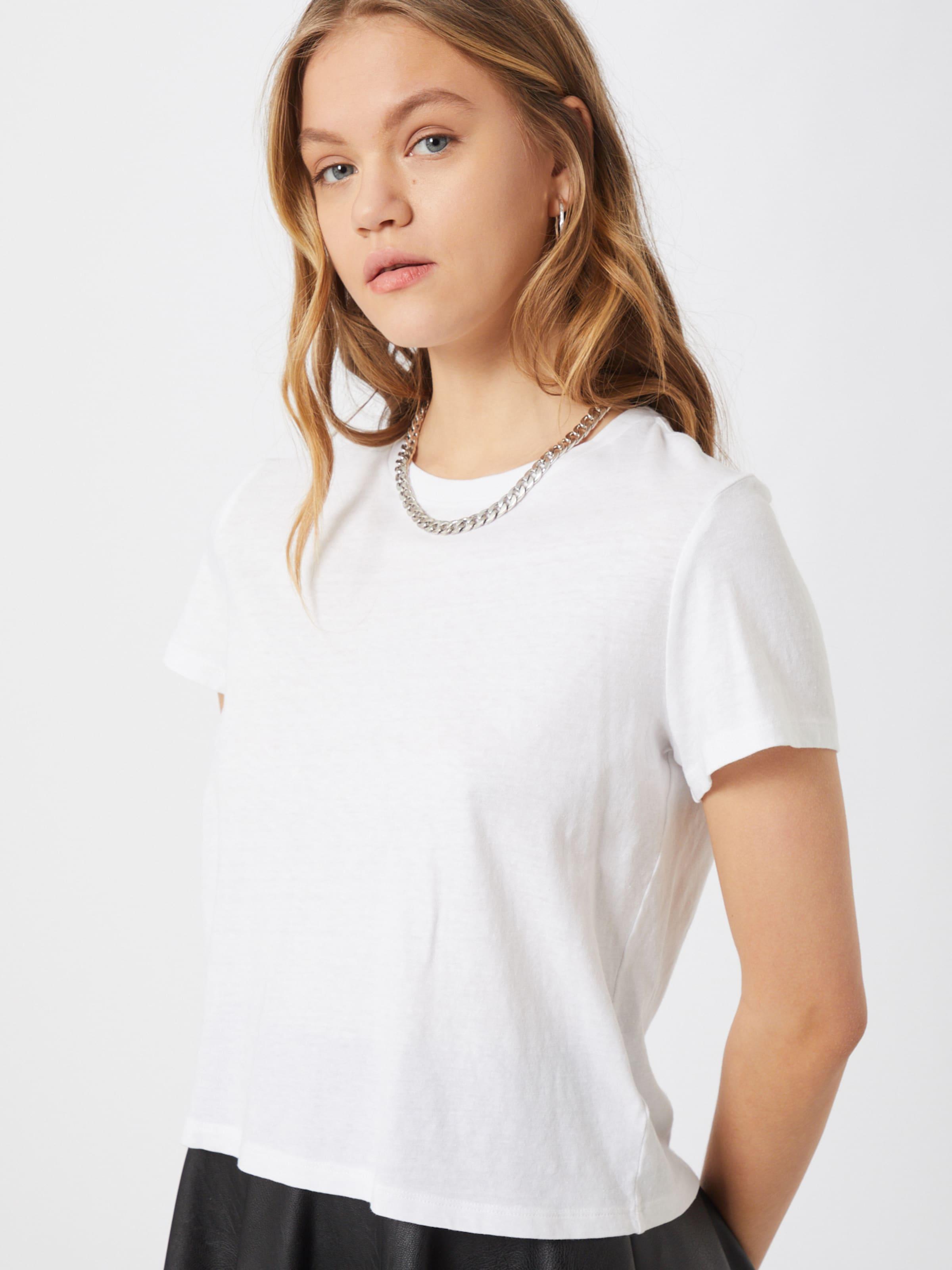 GAP T-shirt SS SHRUNKEN TEE en blanc PYPsCI