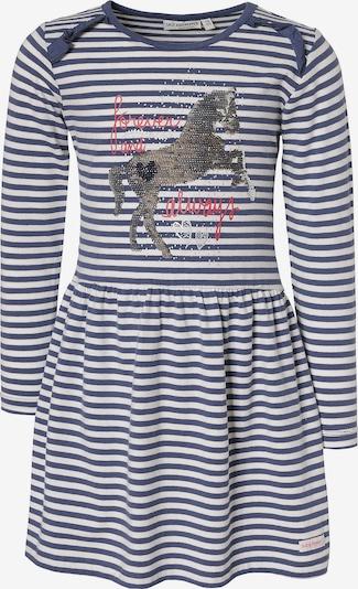 SALT AND PEPPER Kleid in blau / weiß, Produktansicht