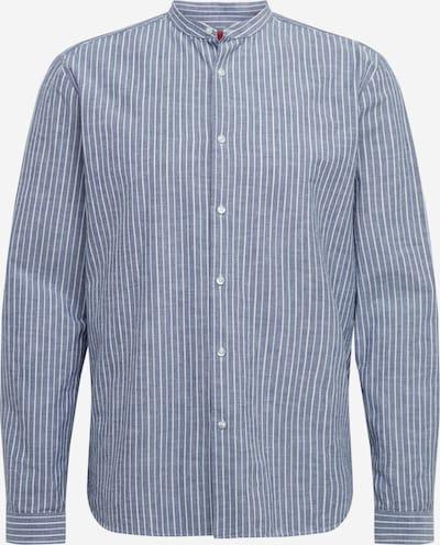 HUGO Krekls 'Edison-W' pieejami zils / balts, Preces skats