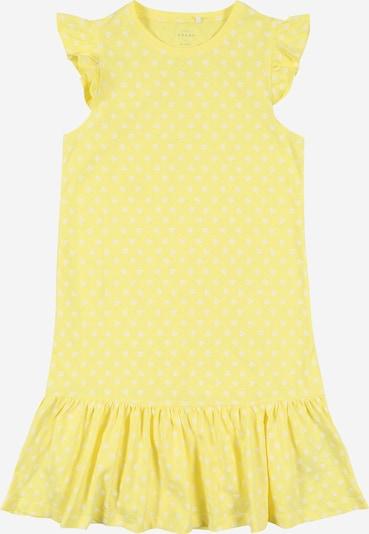 NAME IT Šaty - citronová / bílá, Produkt