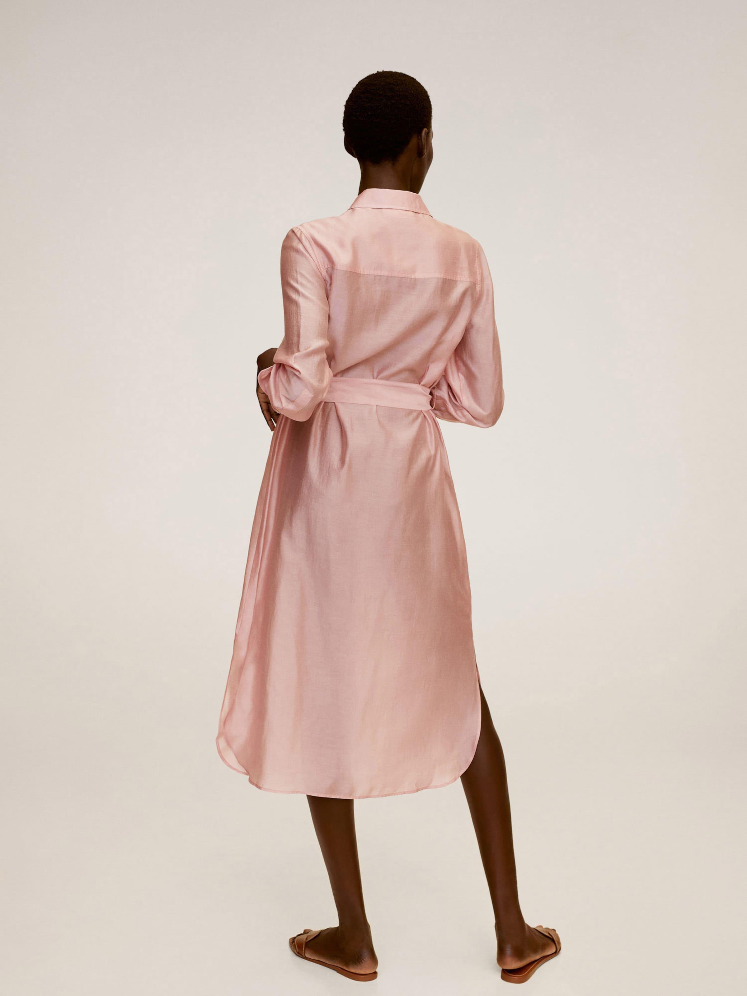 MANGO Ruha világos-rózsaszín színben