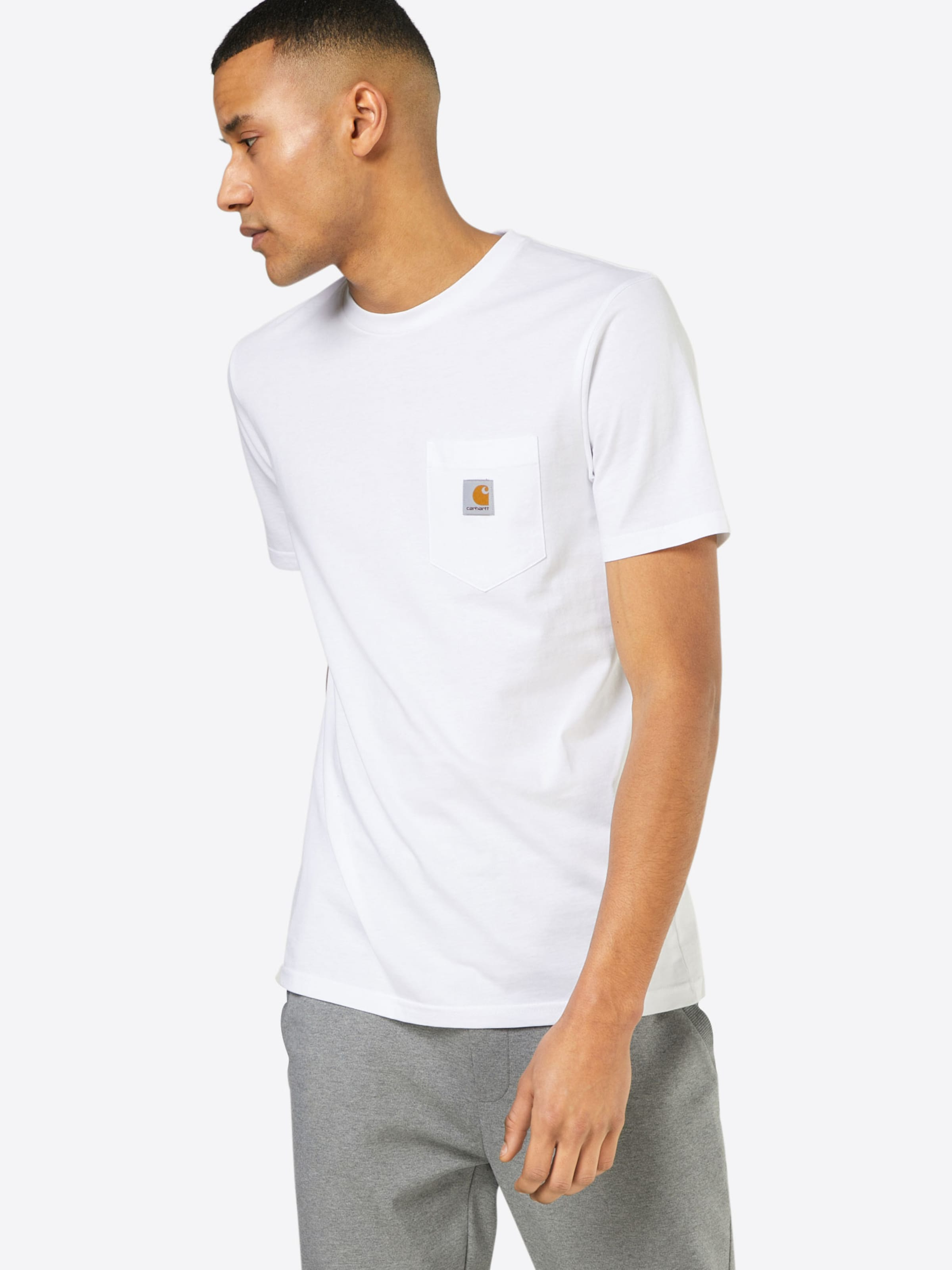 shirt Blanc En Wip Carhartt T xeQordCBW