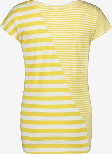 Noppies T-shirt 'Noni' in gelb / weiß, Produktansicht