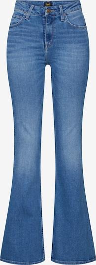 Jeans Lee pe denim albastru: Privire frontală