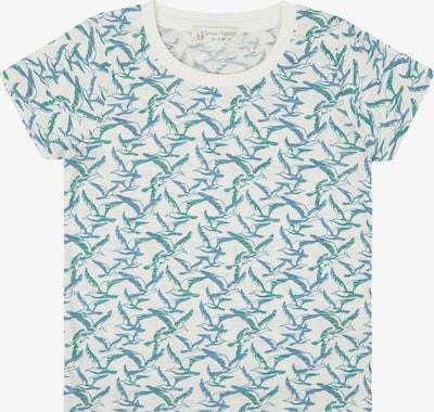 Sense Organics Shirt 'LIKO' in blau / grün / weiß, Produktansicht