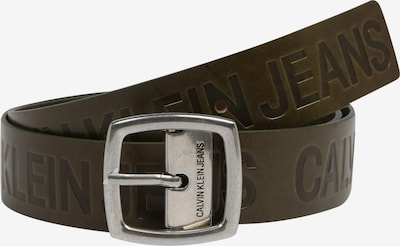 Calvin Klein Jeans Ledergürtel 'J ADJUSTABLE LEATHER BELT 3.8CM' in oliv, Produktansicht