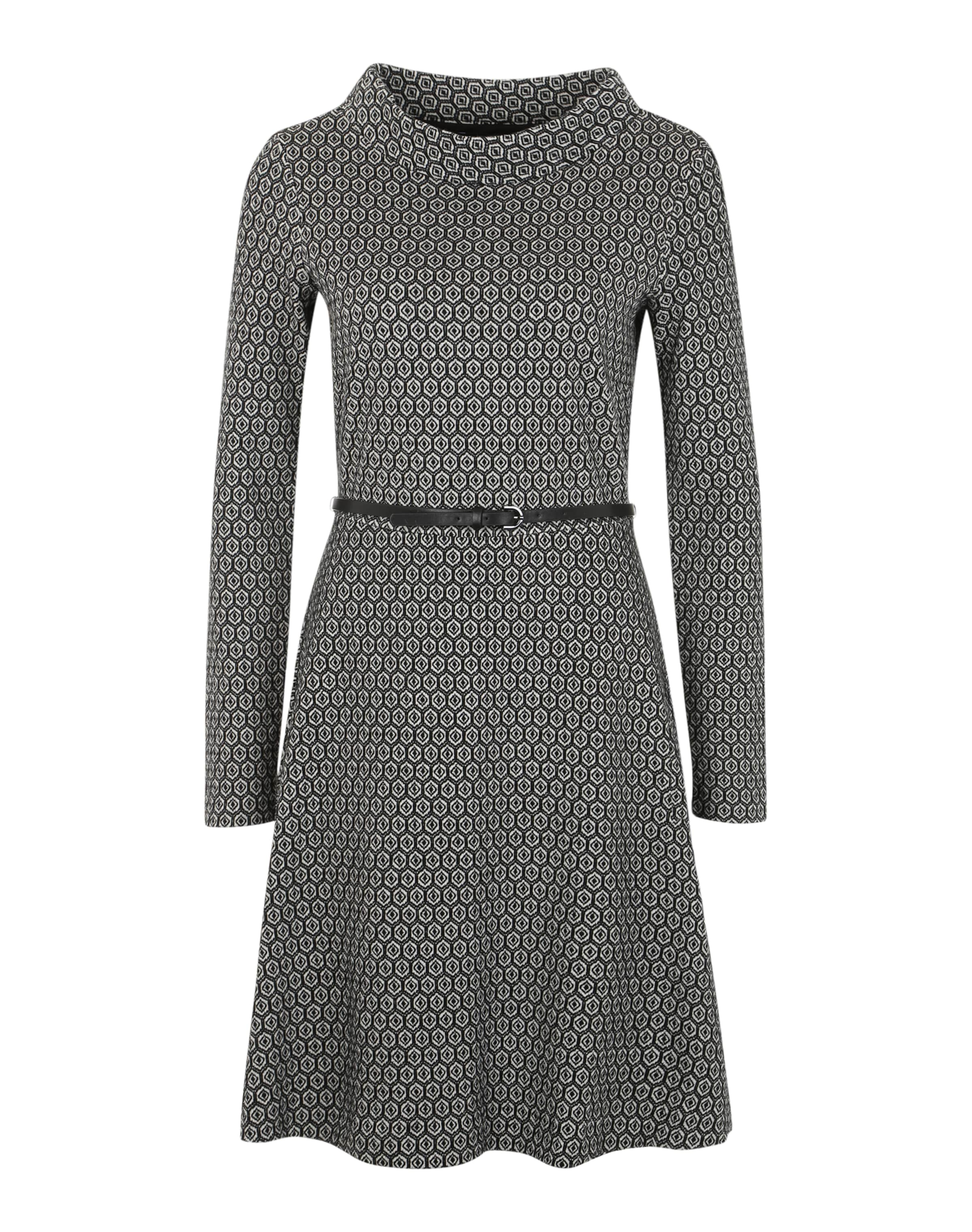 COMMA Gemustertes Kleid Verkauf Sast Rabatt Erwerben Manchester Große Online-Verkauf iCg3SBwD