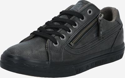 Sneaker low MUSTANG pe grafit, Vizualizare produs