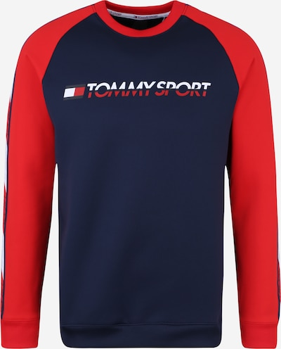 Tommy Sport Sweatshirts 'FLEECE TAPE CREW' in marine, Produktansicht