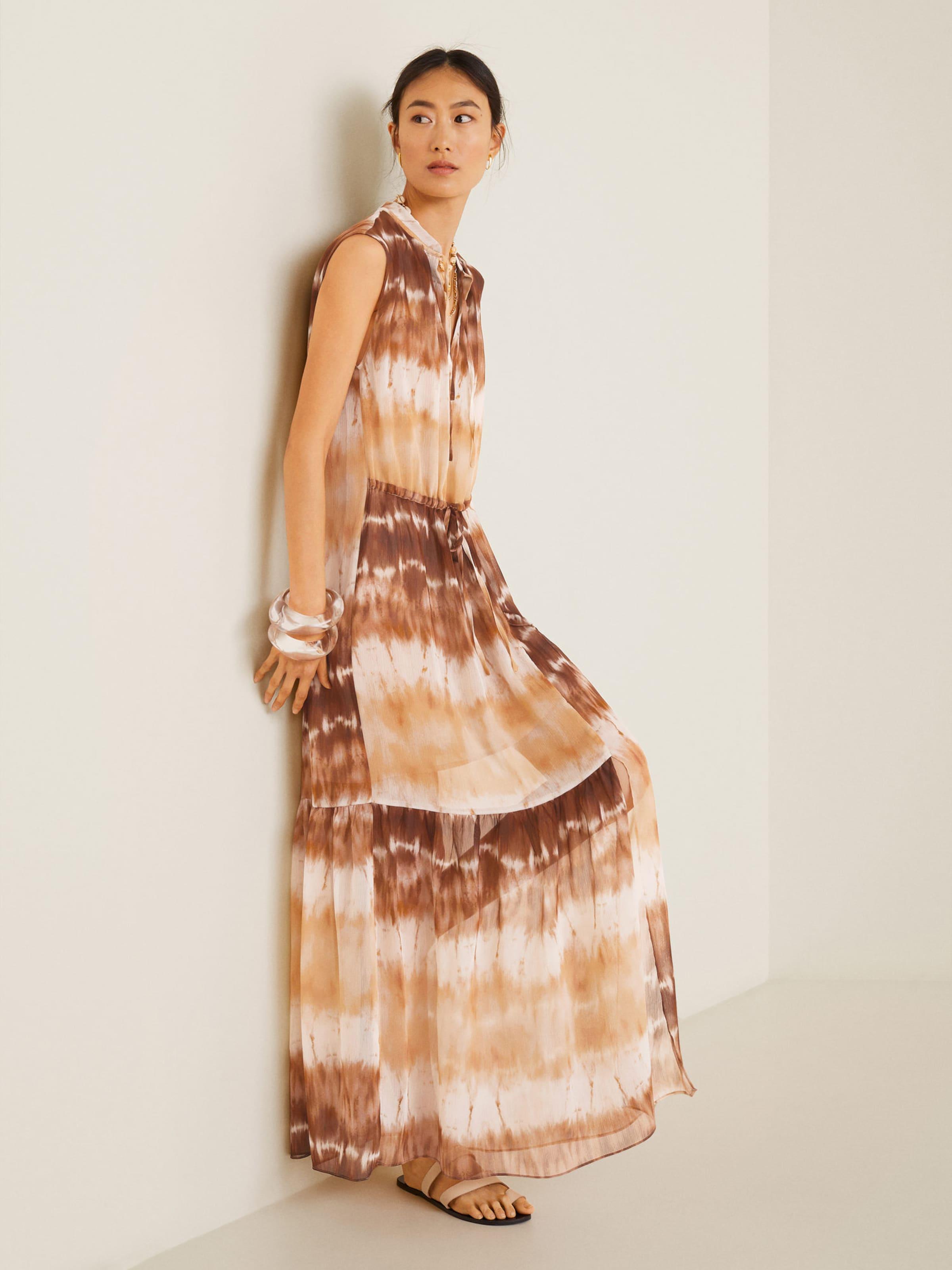 Mango Mango Kleid Kleid BraunWeiß 'tayito' In eCoxrdB