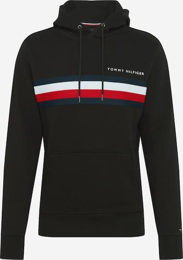 TOMMY HILFIGER Sweatshirt in dunkelblau / rot / schwarz / weiß: Frontalansicht