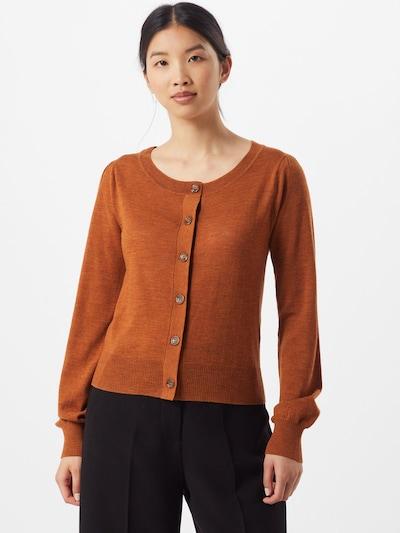 SAND COPENHAGEN Pullover 'Isamu' in orange, Modelansicht