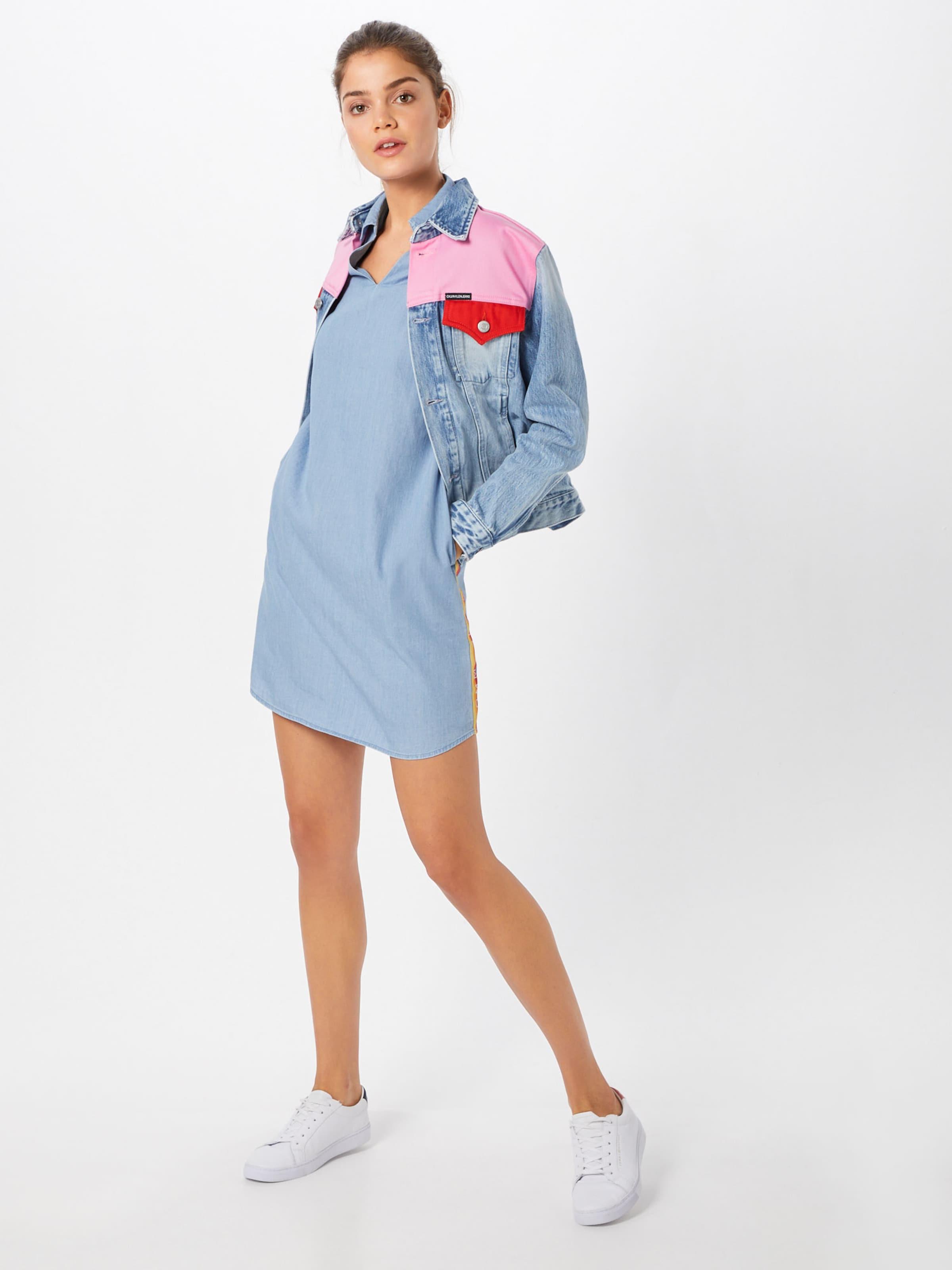 In Kleid Hellblau Jeans Tommy ' Rainbow' fIyg67Ybv