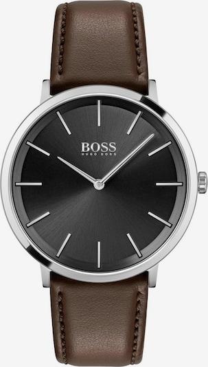 BOSS Analoog horloge 'SKYLINER' in de kleur Bruin / Zwart / Zilver, Productweergave
