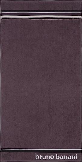 BRUNO BANANI Handtuch Set 'Maja' in aubergine, Produktansicht