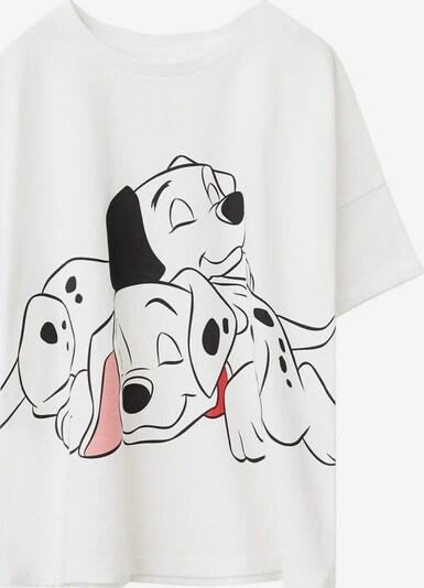 MANGO KIDS Pyjama in weißmeliert, Produktansicht