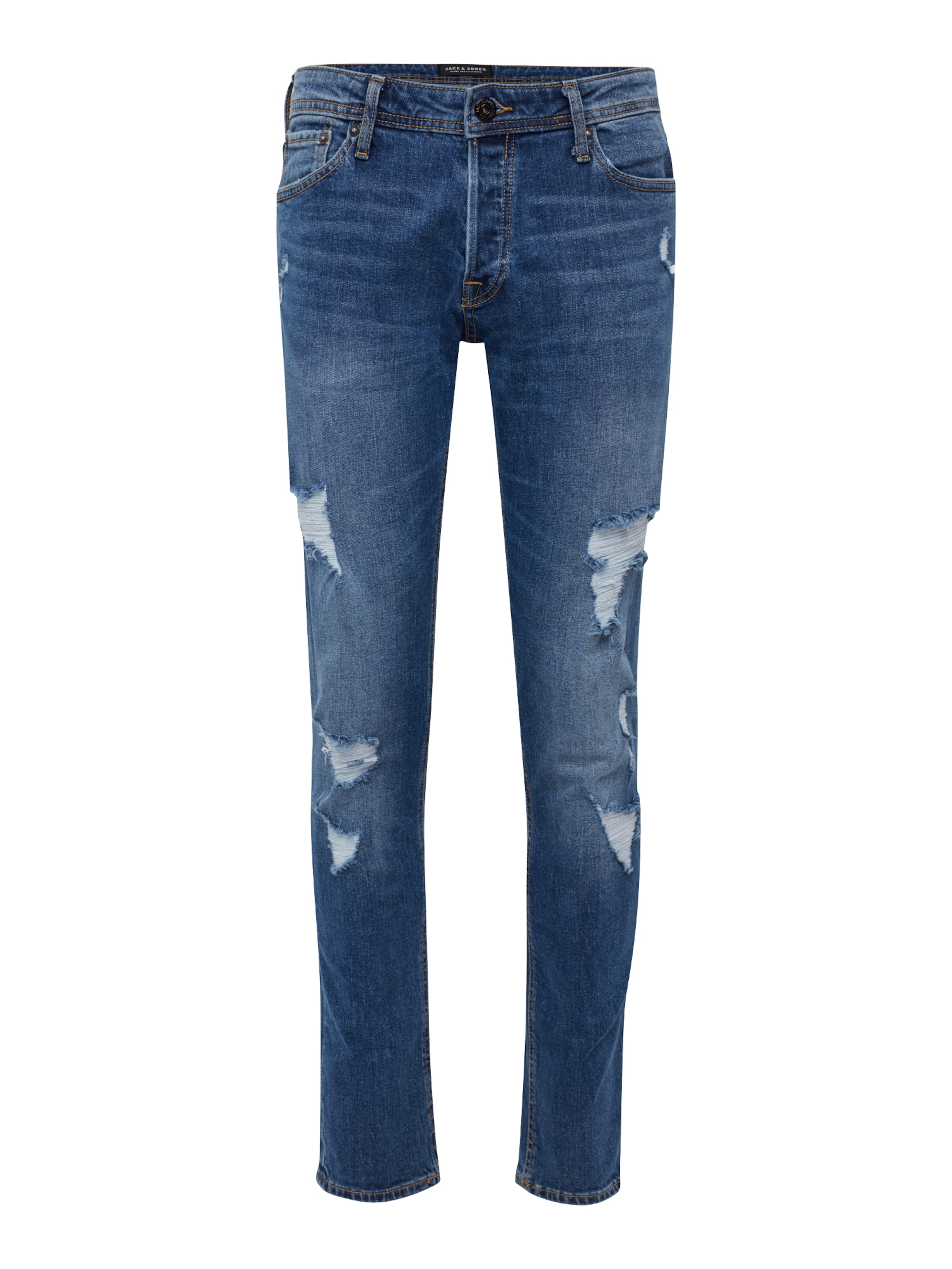 Denim 'jjiglenn Jjoriginal Am 739 Blue Jones Camp' Jeans Jackamp; In j3LA54R