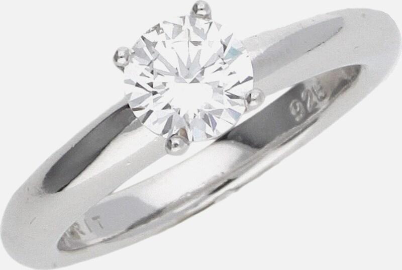 ESPRIT Damen Fingerring 925 Silber Silber Grace ESRG91608A