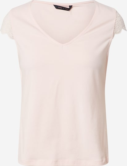 ONLY T-Shirt 'ONYFAITH S/S V-NECK TOP JRS' in rosa, Produktansicht