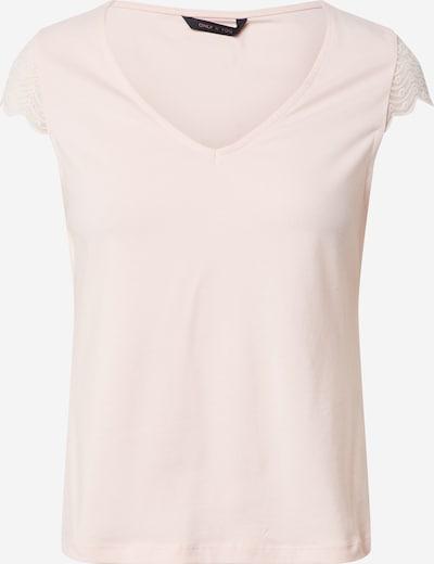ONLY Majica 'ONYFAITH S/S V-NECK TOP JRS' | roza barva, Prikaz izdelka