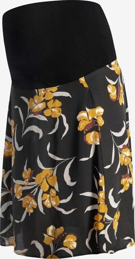 QUEEN MUM Umstandsrock ' Skirt non denim ' in gelb / schwarz / weiß, Produktansicht