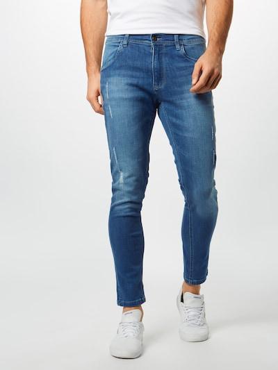 Urban Classics Džinsi zils džinss, Modeļa skats