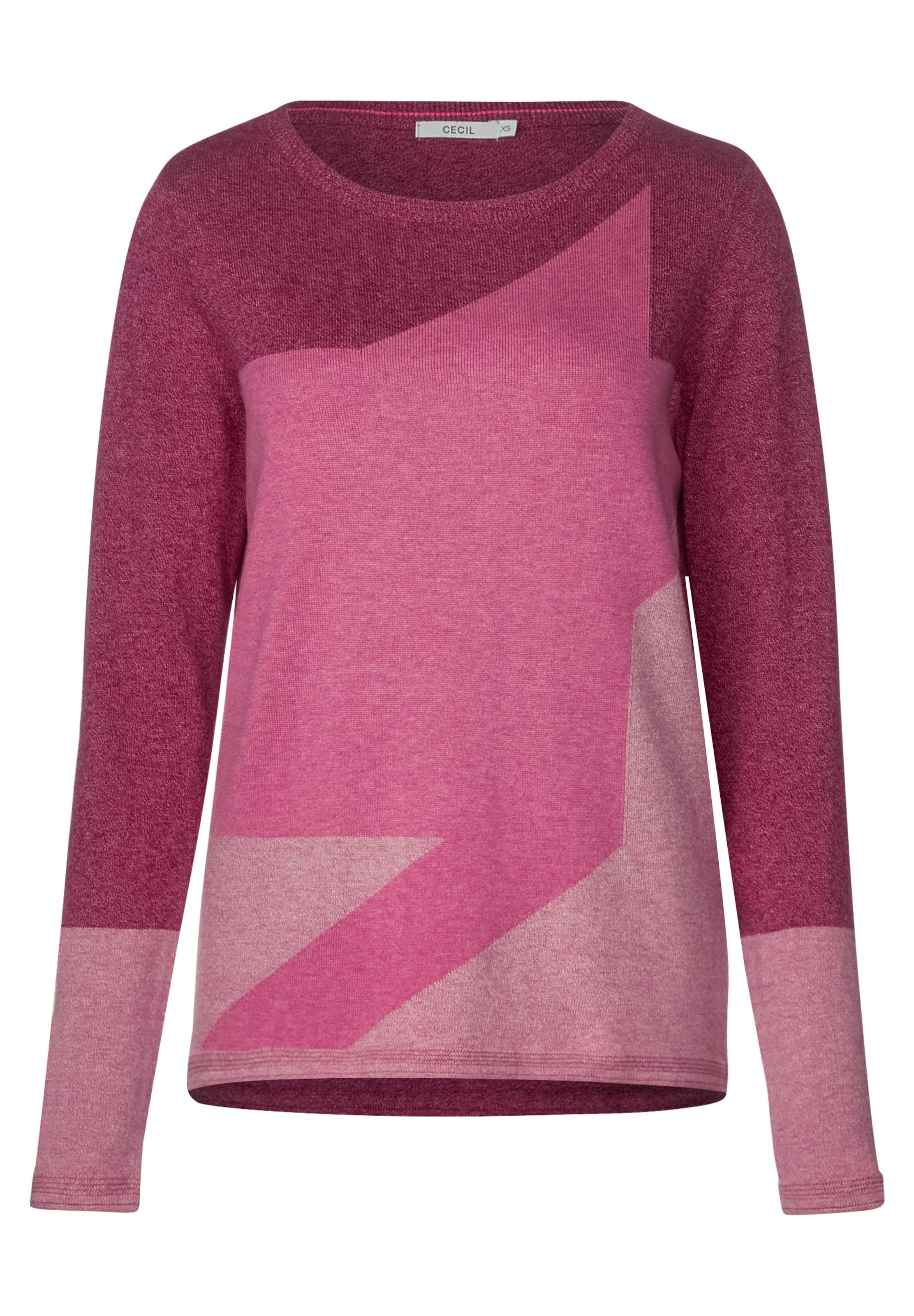 Pullover PinkHimbeer Cecil Cecil In Hellpink 3AL54Rj