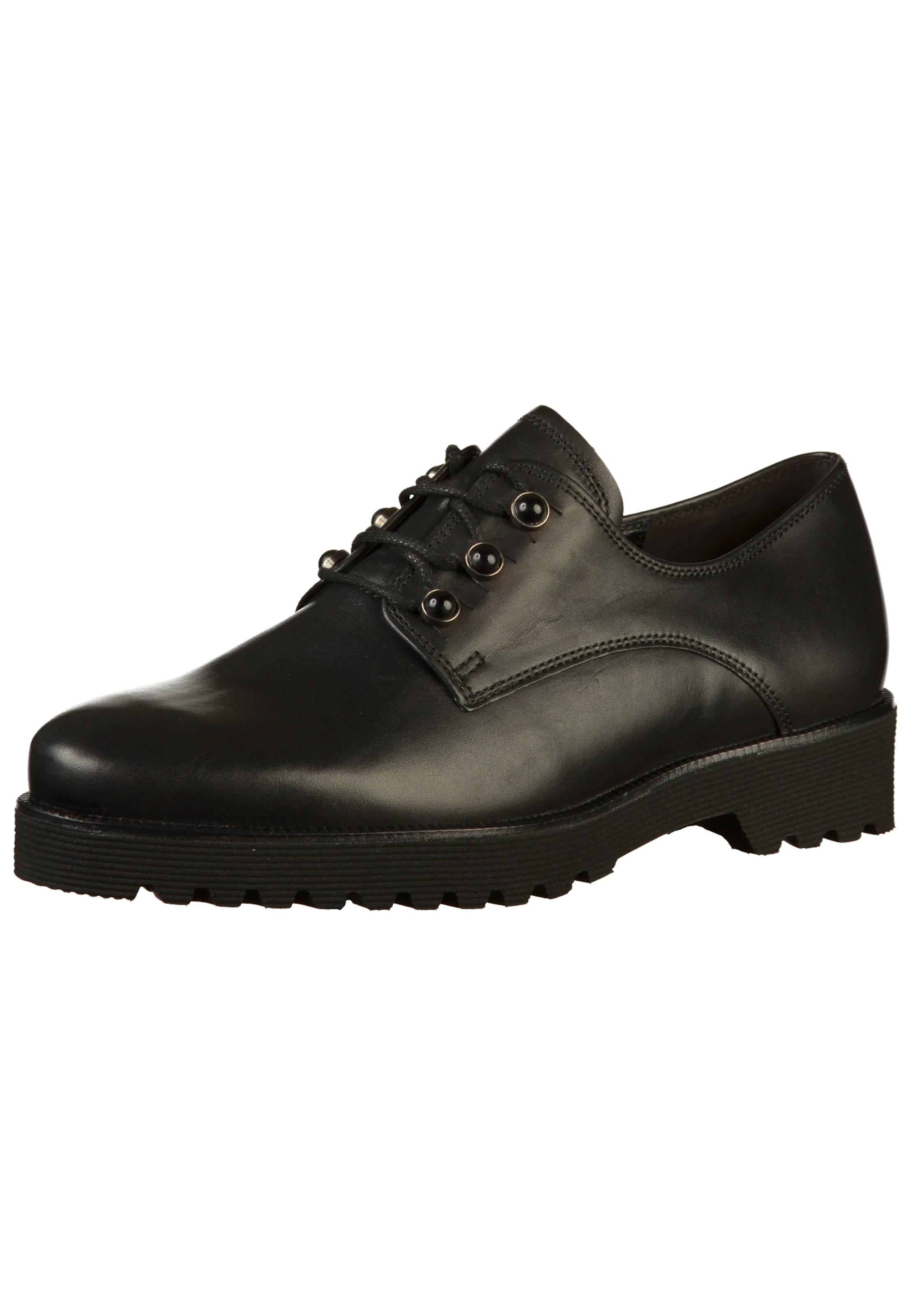 Chaussure Lacets Noir En À Gabor kPuXZi