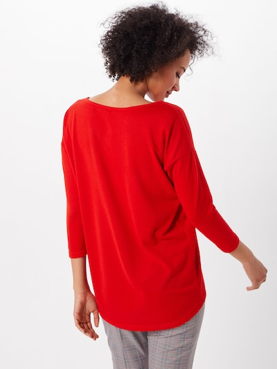 ONLY Shirt 'onlELCOS' in rot: Rückansicht