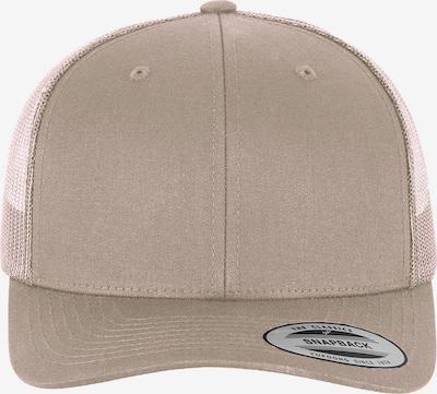 Flexfit Cap 'Retro Trucker' in hellbraun, Produktansicht