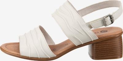 REMONTE Sandaletten in weiß, Produktansicht