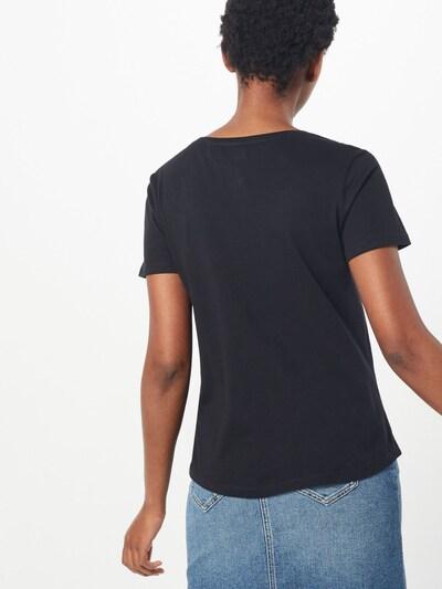 Tommy Jeans T-shirt en noir: Vue de dos